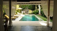 View from the Gladak Javanese house in Villa Adagian, Bali, Indonesia villa adagian gladak view Bali Holidays, Javanese, Luxury Villa, Outdoor Decor, Pictures, House, Luxury Condo, Photos, Home