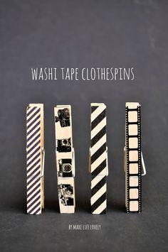 Sensational Creations: 30+ Washi Tape Ideas {round-up}