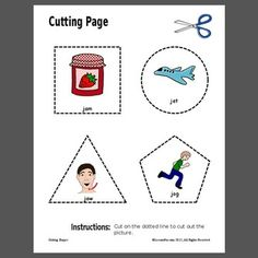 We used this to work on pre-writing skills while also targeting a target speech sound or sound of the week.  I laminated this sheet or put in a sheet protector for use at the writing center, easel, or during transitions.