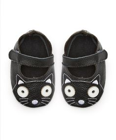 Look what I found on #zulily! Mother's Love Black Cat Leather Mary Jane by Mother's Love #zulilyfinds