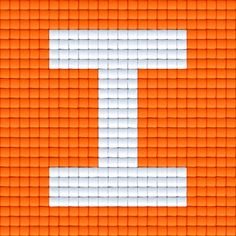 X Letter I   Pixel Party