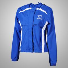 Warm up in this #KansasUniversity Ladies Torrent Jacket l Gameday Super Store
