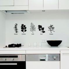 Wall Stickers, Kitchen, Creative Stickers.