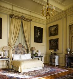 Château du Grand-Lucé, interior designer Timothy Corrigan's palatial estate in France's Loire Valley, comes with a lovely legend. Furniture, Interior, American Interior, Bedroom Interior, Home Decor, Bedroom Furniture, Remodel Bedroom, Interior Design, Interior Design Bedroom