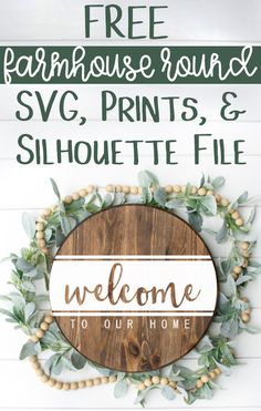 Crafts Obtain this free Welcome to Our House SVG, Silhouette file, and Prints! It's the good SVG for Devon, Cricut Craft Room, Cricut Tutorials, Cricut Ideas, Silhouette Files, Cricut Creations, Diy Signs, Diy House Signs, Wall Signs