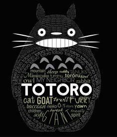 Totoro. Orelinde08 (devian art)