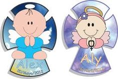 Resultado de imagen para cruces de bautizo y primera comunion para dibujar Baby Shower, Smurfs, Minnie Mouse, Disney Characters, Fictional Characters, Angeles, Tabata, Laser Cutting, Chelsea