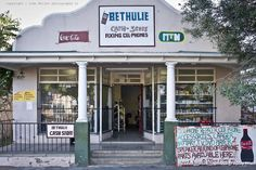 Bethulie Facades Free State, Store Fronts, Facades, South Africa, Road Trip, African, Travel, Voyage, Trips