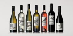Wine packaging by Voice Design.