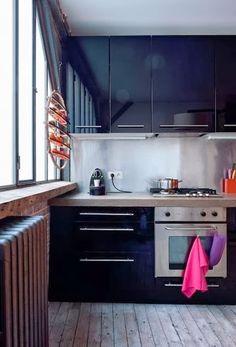 Méchant Design: Little family loft in Paris