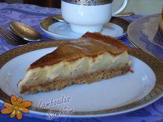 Lamboadas de Samhaim: Tarta de manzanas a la crema