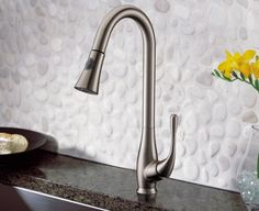 Pull down kitchen faucet $185