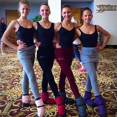 Dancers wearing Crysalide