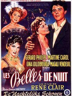 Les belles de nuit(1952) Gérard Philipe, Gina Lollobrigida