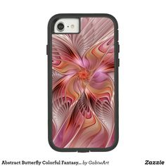 Abstract Butterfly Colorful Fantasy Fractal Art Case-Mate Tough Extreme iPhone 7 Case
