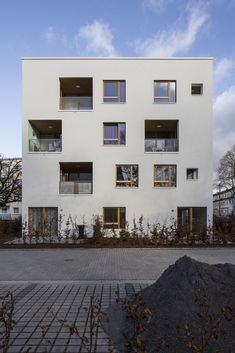 Bremer Punkt / Lin Architects Urbanists © Nikolai Wolff Manufacturers #Sto, #EGGER, #Steico