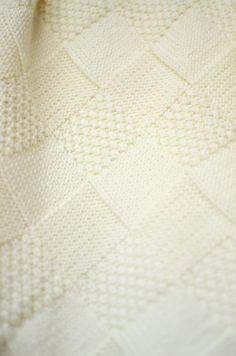 Punto de la manta del bebé manta del bebé de lana Merino a68cca9b3cc