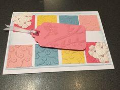 Female card.  Wink of Stella pen in use!