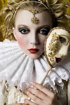 Venetian mask #masquerade #inspiration www.maschere.it