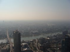 Landscape from the Maintower in Frankfurt