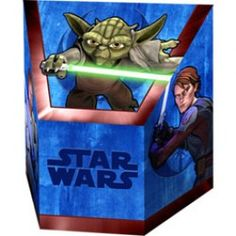 Clone Wars Party Supplies, Clone Wars Treat Boxes, Party Favors