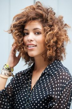 Curly hair tips from my curly hair idol, Christina Cardona.