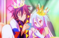 No Game No Life Movie Is Taking Place Before the Anime