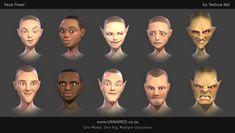 Face Poser by Yeshua Nel  https://www.deviantart.com/yeshuanel/art/Face-Poser-Model-755423517?ga_submit_new=10%3A1532091152