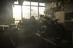 BARTHAMMOTORCLUB:  My Workshop