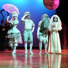 Addams Family ancestors makeup and costumes!