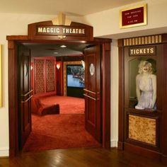 Home Theater Doors | Monarch Custom Doors