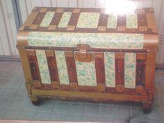 baul antiguo de chapa restaurado | Hacer bricolaje es facilisimo.com