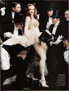 "Nicole Kidman photographed by Annie Leibovitz..... ""diamonds are a girls best…"