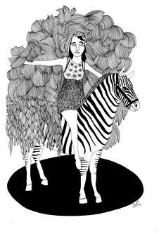 CIRCUS - La zebra