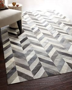 looking for chevron print rugs - in the grey/black shades please
