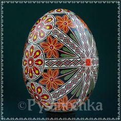 Real Ukrainian Pysanky. Chicken Pysanka. Hand made HQ from Roman. Easter Egg
