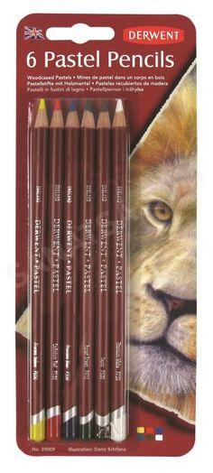 Derwent Pastel Pencil 6'lı Blister Pastel Kalem Seti