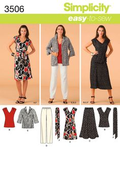 """misses or plus size dress, top, skirt, pants, jacket and tie belt <br/><br/><img src=""""skins/skin_1/images/icon-printer.gif"""" alt=""""printable pattern"""" /> <a href=""""#"""" onclick=""""toggle_visibility('foo');"""">printable pattern terms of sale</a><div id=""""foo"""" style=""""display:none;"""">digital patterns are tiled and labeled so you can print and assemble in the comfort of your home. plus, digital patterns incur no shipping costs! upon purchasing a digital pattern, you will receive an email with a link to the…"""