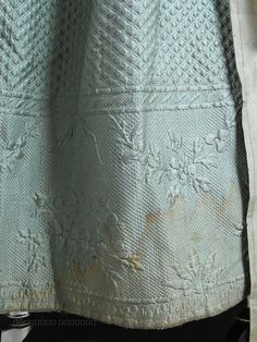 Circa 1775 Robe A L' Anglaise With Quilted Silk Petticoat & Philadelphia Provenance ON LAYAWAY