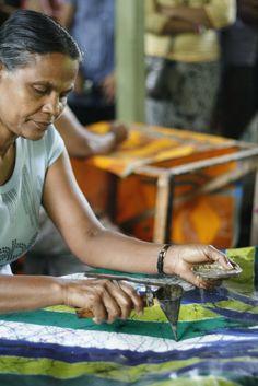 Sri Lanka Batik works
