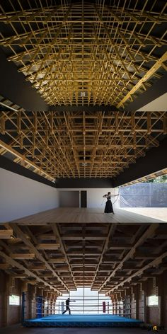 Archery Hall and Boxing Club, Tokyo by FT Architects - dsgnrt