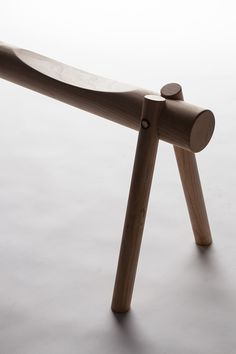 Object Future Australian Design Exhibition // Section Bench by Tim Wallace Bench Furniture, Bespoke Furniture, Wooden Furniture, Furniture Design, Deco Design, Wood Design, Casa Cook, Bench Designs, Wood Joinery