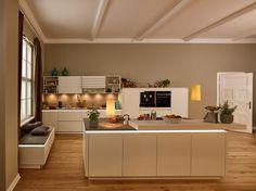 Die 25 besten Bilder von Grifflose Küchen in 2019   Home kitchens ...