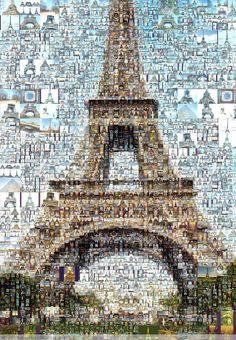 Eiffel Tower ~ Very cool!