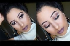 Suede Rose Makeup Tutorial: Morphe 35T Palette - YouTube