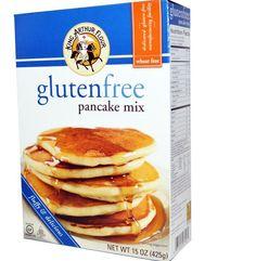 King Arthur Flour Gluten Free  Pancake Waffle Baking Mix 15 oz Pack Bag (425 g) #kingarthur
