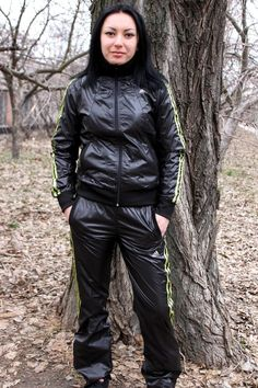 Adidas Tracksuit, Winter Jackets, Fashion, Adidas Hoodie, Winter Coats, Moda, Winter Vest Outfits, Fashion Styles, Fashion Illustrations