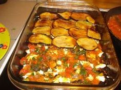 Greek Cooking, Easy Cooking, Cooking Recipes, Healthy Recipes, Greek Recipes, Vegetable Recipes, Eggplant Recipes, No Cook Meals, Food Network Recipes
