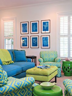 Casual Contemporary Living Family Room By Jacquelyn Armour On Homeportfolio Tiana Dawne Decor Blue Green