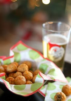 Cheddar Olive Bites are perfect for your cocktail party lineup!